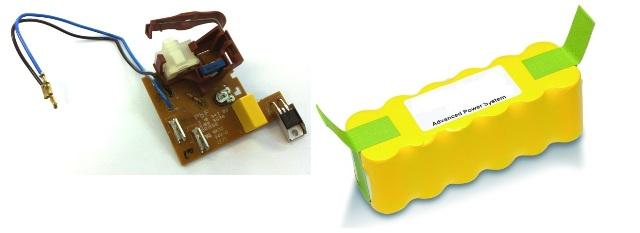 Schede elettroniche e batterie